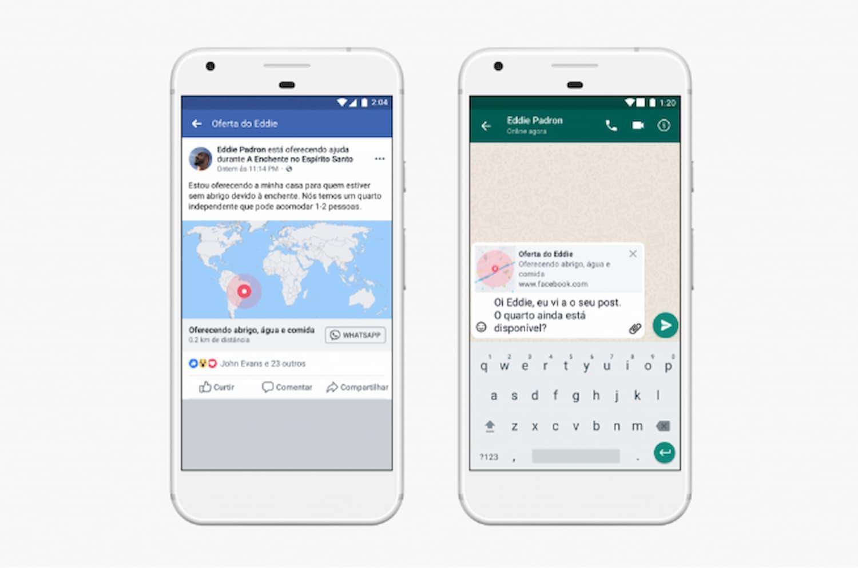 Nova função para o <p><span>Whatsapp</span></p> possui a ferramenta para pedir ajuda ou marca-se como seguro.