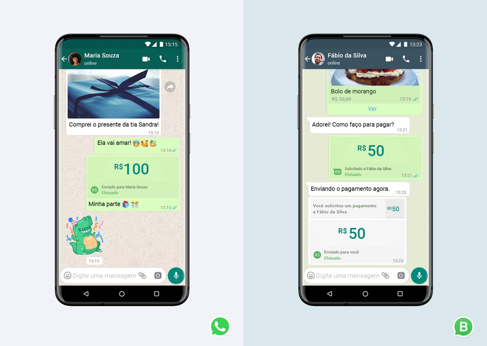 WhatsApp libera pagamentos diretamente de dentro do app