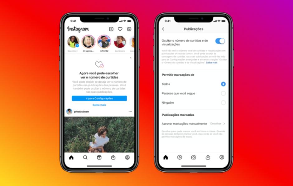 Sob o argumento de que os conteúdos não deveriam se tornar uma competição de likes, o Instagram preferiu esconder o número de curtidas em julho de 2019.
